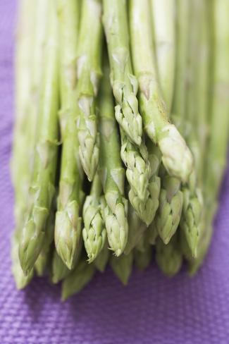 Green Asparagus Photographic Print