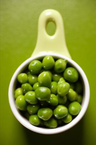 Peas in Small Bowl Photographic Print