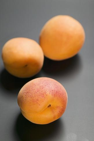 Three Apricots Photographic Print