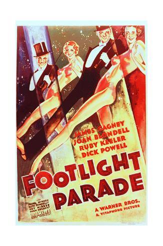 Footlight Parade Art Print