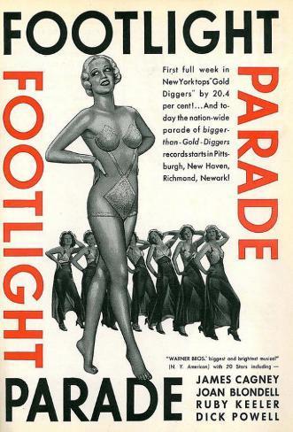 Footlight Parade Stampa master