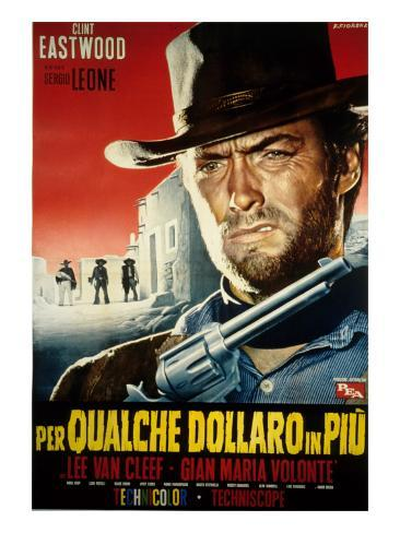 For a Few Dollars More, Clint Eastwood, 1965 Photo