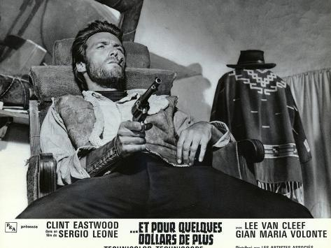 For a Few Dollars More, French Movie Poster, 1966 Art Print