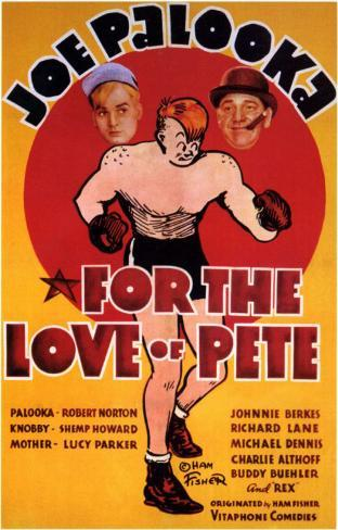 For the Love of Pete Masterprint