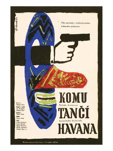 For Whom Havana Dances-Komu Art Print