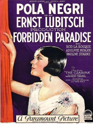 Forbidden Paradise Impressão artística