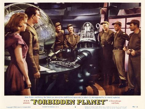 Forbidden Planet, 1956 Art Print