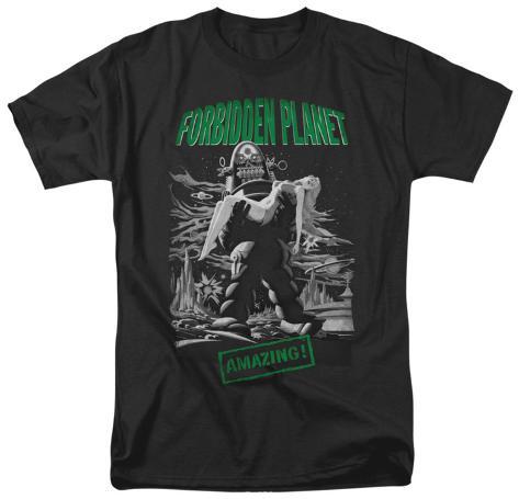 Forbidden Planet - Robot Poster T-Shirt