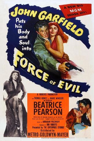 Force of Evil, John Garfield, Marie Windsor, 1948 Art Print