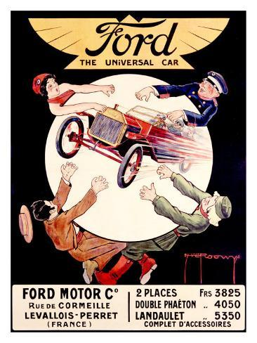 Ford, the Universal Car Giclee Print