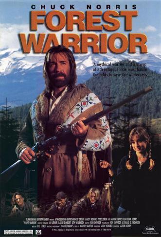 Forest Warrior Masterprint