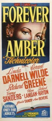 Forever Amber - Australian Style Poster