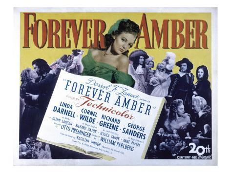 Forever Amber, Linda Darnell, 1947 Photo