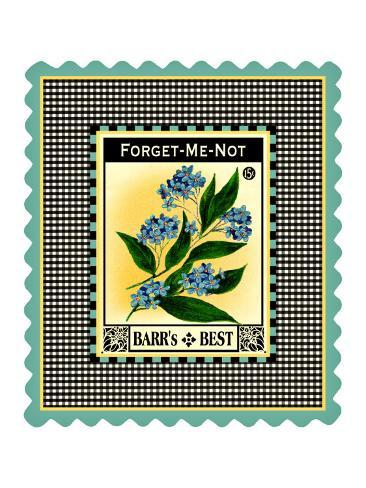 Forget Me Not Flower Stampa giclée