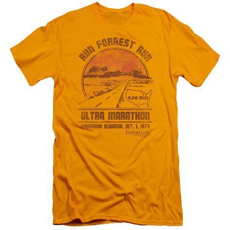Forrest Gump - Ultra Marathon (slim fit) T-Shirt