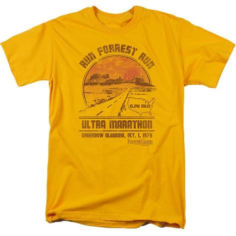 Forrest gump ultra marathon t shirt for Marathon t shirt printing