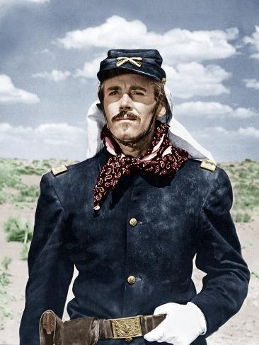 FORT APACHE, Henry Fonda, 1948 Stretched Canvas Print