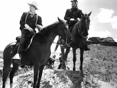 Fort Apache, John Wayne, Henry Fonda, 1948 Photo
