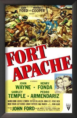 Fort Apache Framed Art Print