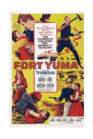 Fort Yuma Stampa giclée