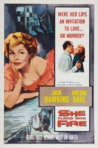 Fortune is a Woman, (aka She Played with Fire), 1957 Art Print