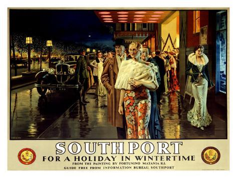 Southport, Evening Giclee Print