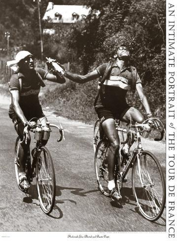 Foto d'archivio di Gino Bartali e Fausto Coppi Stampa artistica