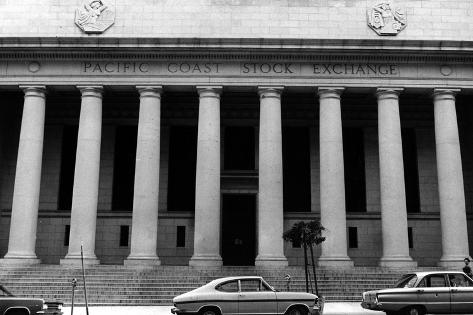 Stock Exchange Photographic Print