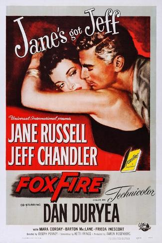 Foxfire Art Print