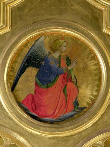 The Angel of the Annunciation, Altarpiece, Church of San Domenico in Perugia Giclee Print