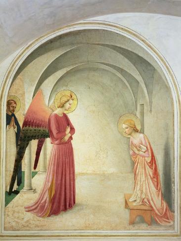 The Annunciation, 1442 Lámina giclée