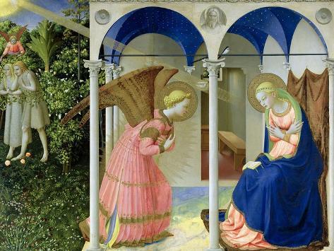 The Annunciation, circa 1430-32 Giclee Print