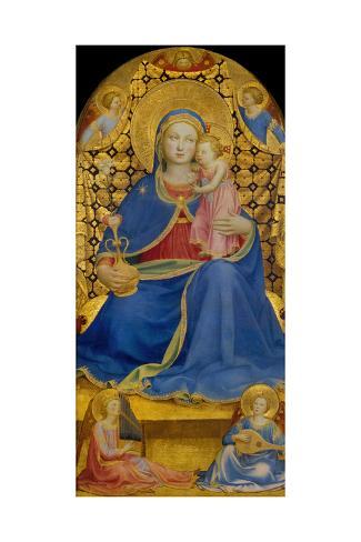 The Virgin of Humility Lámina giclée