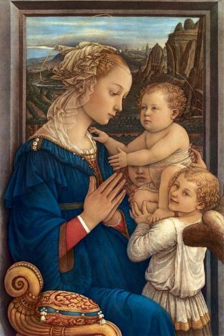 Adorazione, c.1406-1469 Reproducción de lámina sobre lienzo