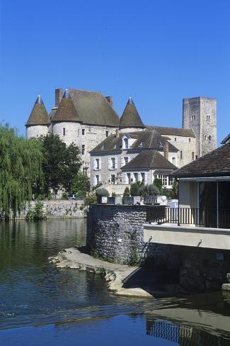 Franc, Ile-De-France, 12th Century Nemours Castle Giclee Print