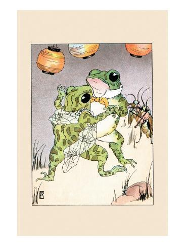 Dance With Billy Bullfrog Lámina giclée prémium