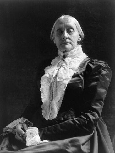 Susan B. Anthony (1820-1906) Photographic Print