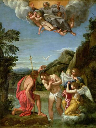 Baptism of Christ Giclee Print