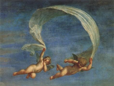 Cupids Leading Adonis to Venus, 1625 Giclee Print