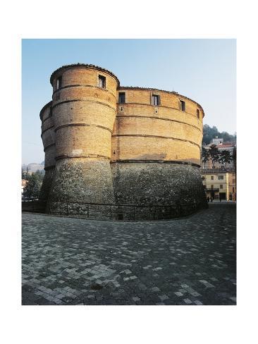 Ubaldinesca Fortress of Sassocorvaro Lámina giclée