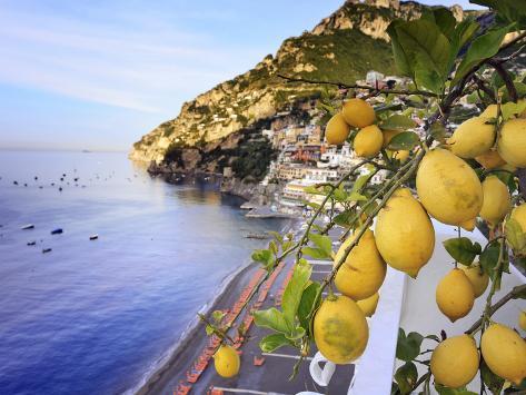 Italy, Campania, Salerno District, Peninsula of Sorrento, Positano Photographic Print
