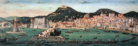 Tavola Strozzi Stretched Canvas Print