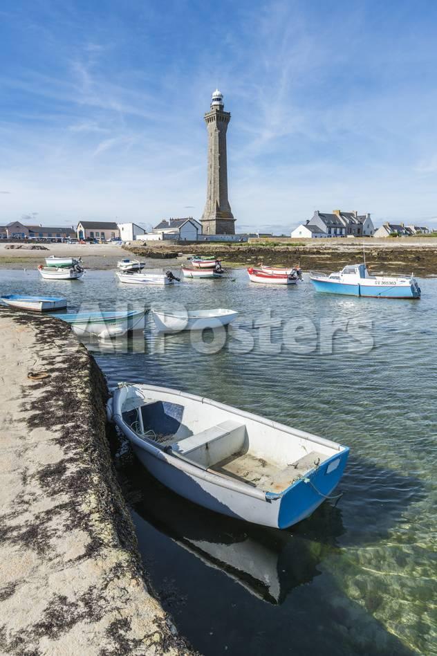 オールポスターズの francesco vaninetti lighthouse with pier and