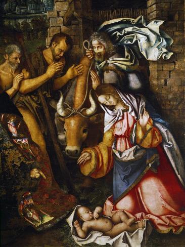 Adoration of the Shepherds Lámina giclée
