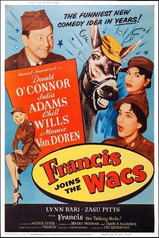 Francis Joins the Wacs Art Print