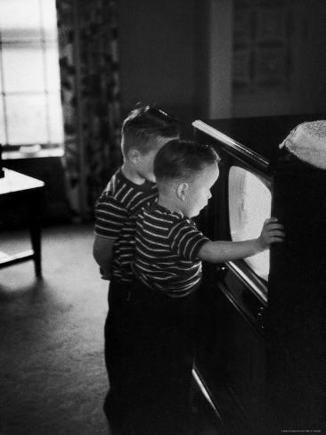 Orphaned German Brothers Adopted by the Riegel Family of America Photographic Print