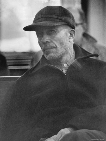 Portrait of Ed Gein, Alleged Mass Murderer Premium Photographic Print