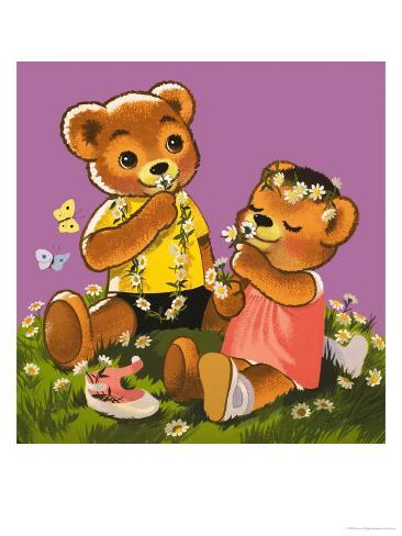 Teddy Bear Giclee Print