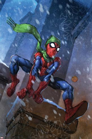 Marvel Adventures Spider-Man No.46 Cover: Spider-Man Poster