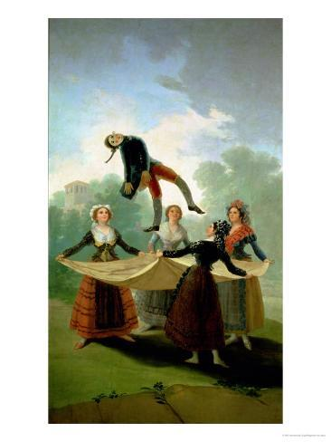El Pelele (The Puppet) 1791-2 Giclee Print